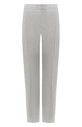 Мужской брюки из смеси шерсти и хлопка Z ZEGNA серого цвета, арт. 7ZF021/73N5C2 | Фото 1
