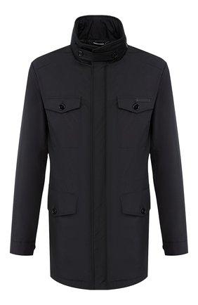 Мужская куртка DOLCE & GABBANA темно-синего цвета, арт. G9RF3T/HU7D9 | Фото 1