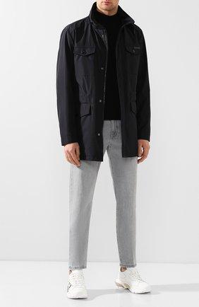 Мужская куртка DOLCE & GABBANA темно-синего цвета, арт. G9RF3T/HU7D9 | Фото 2