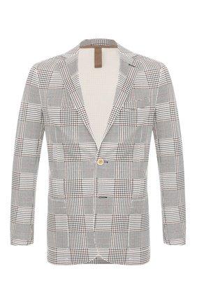 Мужской пиджак из вискозы ELEVENTY разноцветного цвета, арт. A70GIAA01 TES0A096 | Фото 1