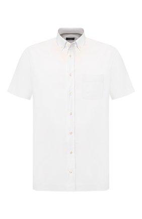 Мужская хлопковая сорочка VAN LAACK белого цвета, арт. T0Y2-S-PTF/155024 | Фото 1