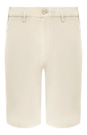 Мужские хлопковые шорты LORO PIANA белого цвета, арт. FAE8348 | Фото 1