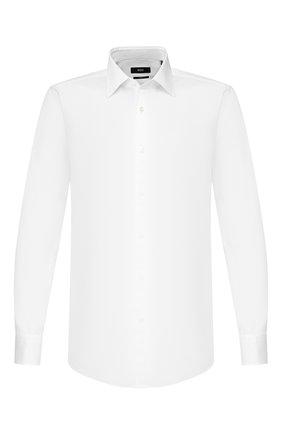 Мужская сорочка BOSS белого цвета, арт. 50428402 | Фото 1