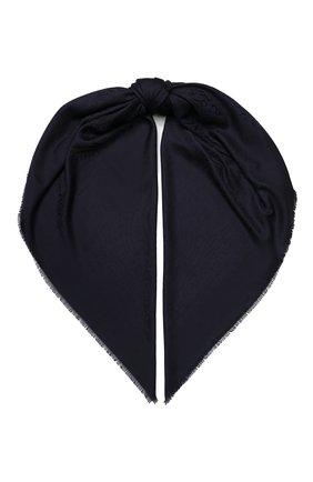 Женский платок из смеси  шерсти и шелка EMILIO CONTE черного цвета, арт. K01414 J1792 | Фото 1