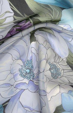 Женский шелковый платок EMILIO CONTE черного цвета, арт. K01414 SG458 | Фото 2