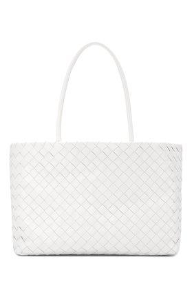 Женская сумка-тоут BOTTEGA VENETA белого цвета, арт. 600504/VCPP1 | Фото 1