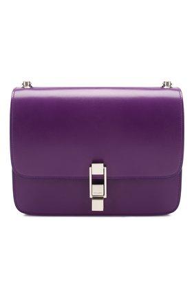 Женская сумка carre SAINT LAURENT сиреневого цвета, арт. 585060/0SX0N | Фото 1
