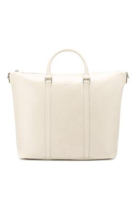 Женская сумка-тоут supple SAINT LAURENT белого цвета, арт. 608958/1R00E | Фото 1