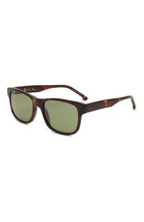 Мужские солнцезащитные очки LORO PIANA коричневого цвета, арт. FAI4928 | Фото 1