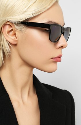 Мужские солнцезащитные очки LORO PIANA черного цвета, арт. FAI4928 | Фото 2