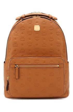 Женский рюкзак brandenburg medium MCM коричневого цвета, арт. MMK ASVE09 | Фото 1