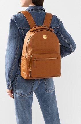 Женский рюкзак brandenburg medium MCM коричневого цвета, арт. MMK ASVE09 | Фото 2