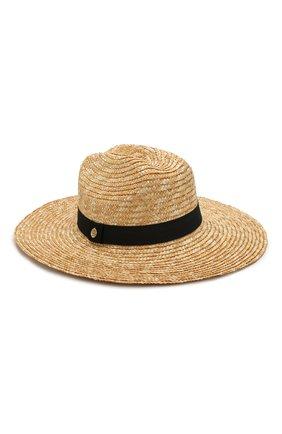Женская шляпа savannah MELISSA ODABASH бежевого цвета, арт. SAVANNAH   Фото 1