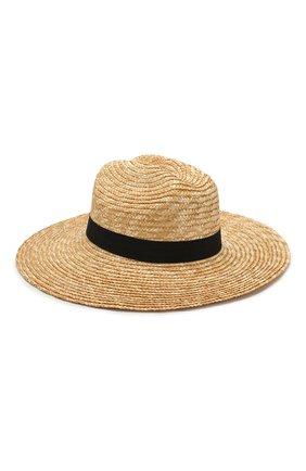 Женская шляпа savannah MELISSA ODABASH бежевого цвета, арт. SAVANNAH   Фото 2