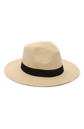 Женская шляпа fedora MELISSA ODABASH бежевого цвета, арт. FED0RA   Фото 2