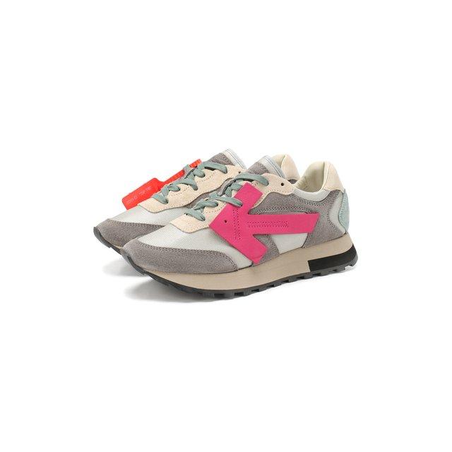 Комбинированные кроссовки Runner Off-White