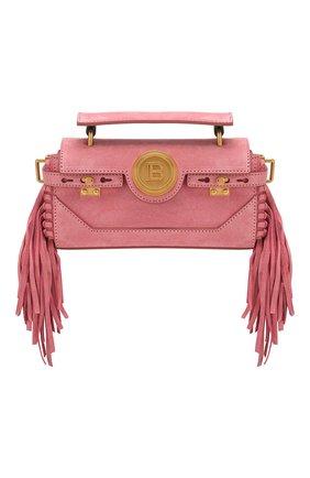 Женская сумка bbuzz 19 BALMAIN розового цвета, арт. TN0S480/LCRF | Фото 1