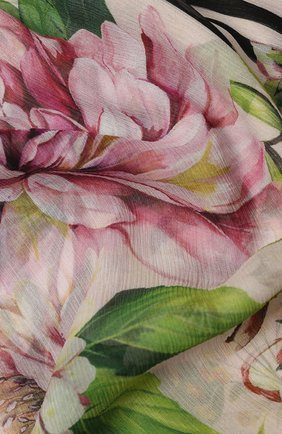 Мужские шелковый шарф DOLCE & GABBANA розового цвета, арт. FS182A/GDS54 | Фото 2