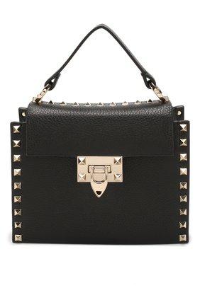 Женская сумка valentino garavani rockstud small VALENTINO черного цвета, арт. TW0B0G49/VSF | Фото 1