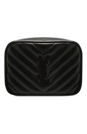 Женская поясная сумка lou SAINT LAURENT черного цвета, арт. 614031/DV708 | Фото 1