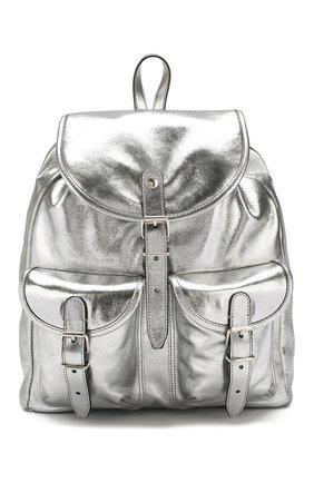 Женский рюкзак venice SAINT LAURENT серебряного цвета, арт. 605113/1Q30N | Фото 1