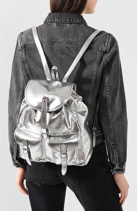 Женский рюкзак venice SAINT LAURENT серебряного цвета, арт. 605113/1Q30N | Фото 2