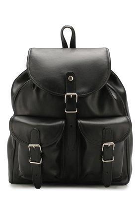 Женский рюкзак venice SAINT LAURENT черного цвета, арт. 605113/1PL0E | Фото 1