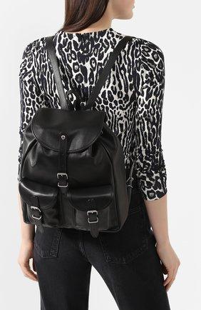 Женский рюкзак venice SAINT LAURENT черного цвета, арт. 605113/1PL0E | Фото 2