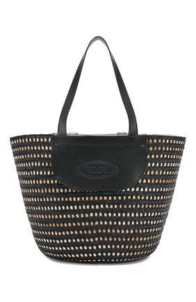 Женская сумка pag TOD'S черного цвета, арт. XBWPAGA020005M | Фото 1