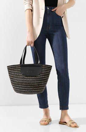 Женская сумка pag TOD'S черного цвета, арт. XBWPAGA020005M | Фото 2