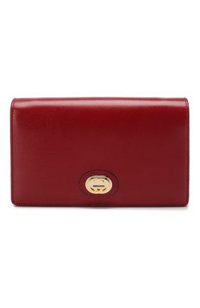 Женская сумка marina GUCCI красного цвета, арт. 598549/1DB0X | Фото 1