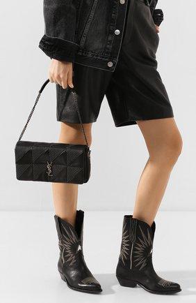 Женская сумка jamie SAINT LAURENT черного цвета, арт. 605026/C0PN4 | Фото 2