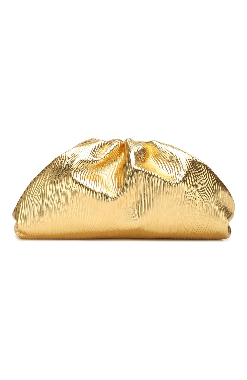 Женский клатч pouch BOTTEGA VENETA золотого цвета, арт. 618128/VCQ60 | Фото 1
