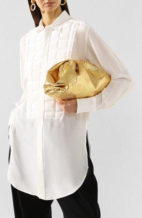 Женский клатч pouch BOTTEGA VENETA золотого цвета, арт. 618128/VCQ60 | Фото 2