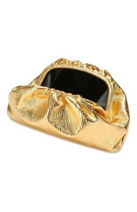 Женский клатч pouch BOTTEGA VENETA золотого цвета, арт. 618128/VCQ60 | Фото 4