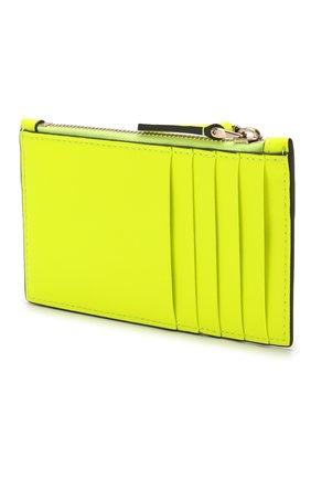 Женский футляр для кредитных карт valentino garavani VALENTINO желтого цвета, арт. TW0P0S76/BXT | Фото 2