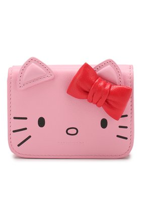 Женские кожаное портмоне hello kitty BALENCIAGA розового цвета, арт. 619017/1CBQ3 | Фото 1