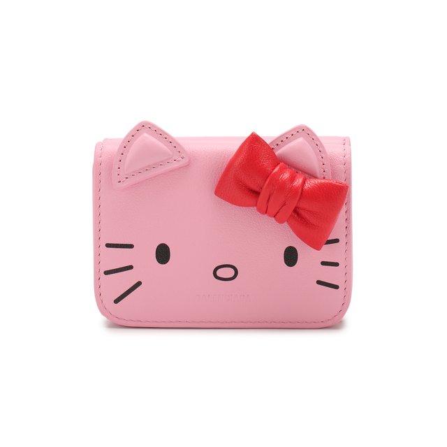 Кожаное портмоне Hello Kitty Balenciaga
