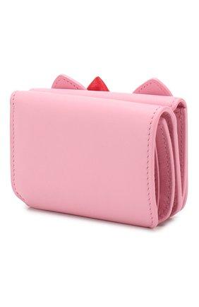 Женские кожаное портмоне hello kitty BALENCIAGA розового цвета, арт. 619017/1CBQ3 | Фото 2