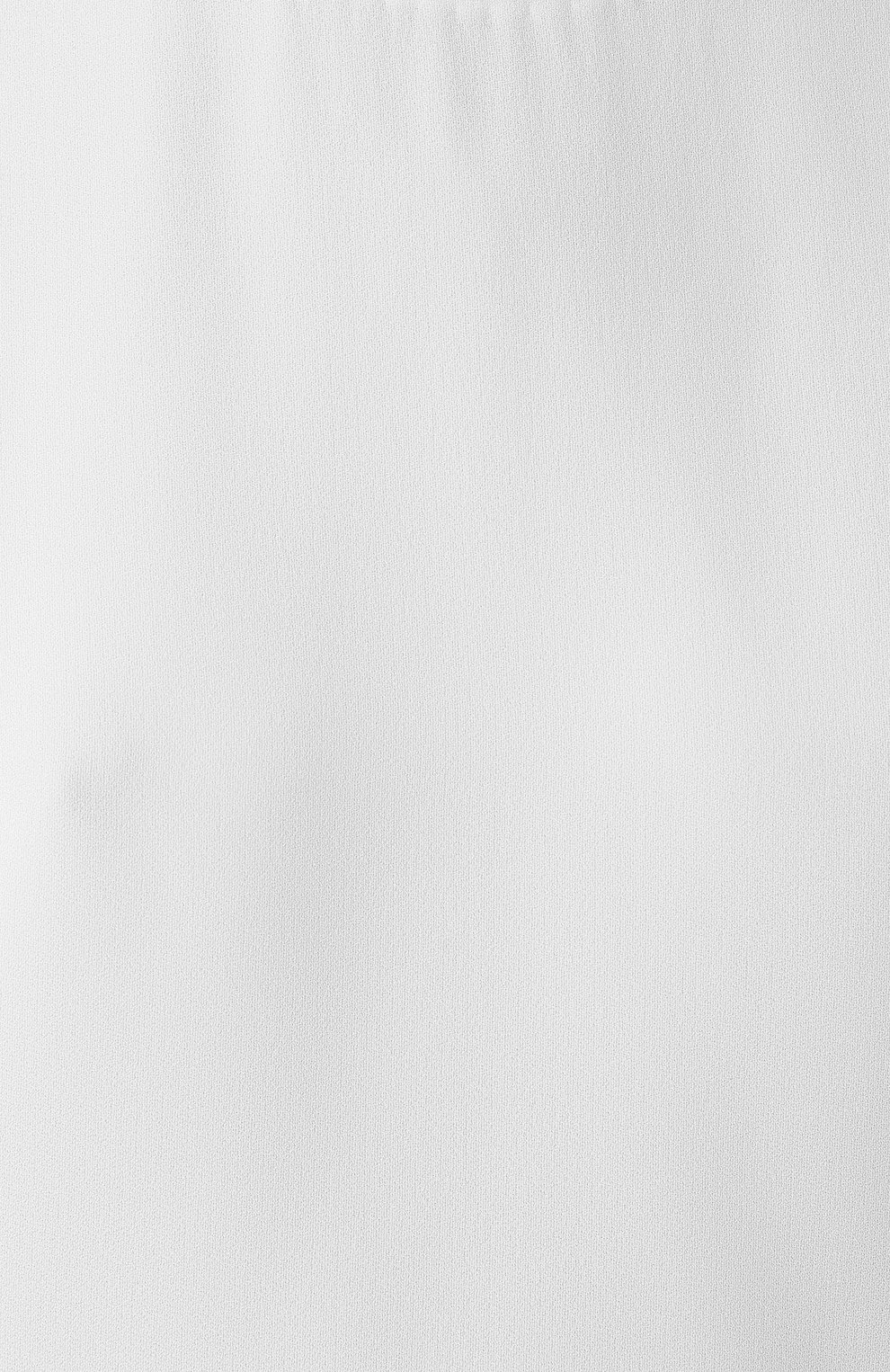 Женская блузка ADAM LIPPES белого цвета, арт. R20121SB   Фото 5 (Принт: Без принта; Рукава: Короткие; Материал внешний: Синтетический материал; Длина (для топов): Стандартные; Женское Кросс-КТ: Блуза-одежда)