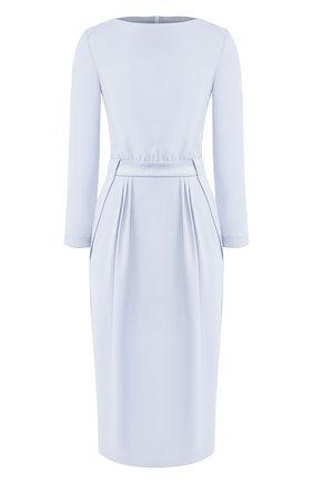 Женское платье GIORGIO ARMANI голубого цвета, арт. 0SHVA049/T002M | Фото 1