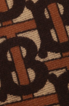 Мужского плед из шерсти и кашемира BURBERRY коричневого цвета, арт. 8024527 | Фото 2