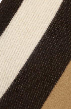Мужского плед из шерсти и кашемира BURBERRY бежевого цвета, арт. 8023088 | Фото 2