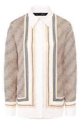 Женская блузка PROENZA SCHOULER бежевого цвета, арт. R2014015-BYP159   Фото 1
