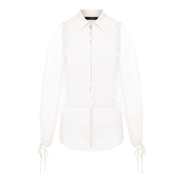 Шелковая блузка Amiri