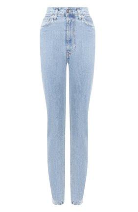 Женские джинсы HELMUT LANG голубого цвета, арт. J04DW213 | Фото 1