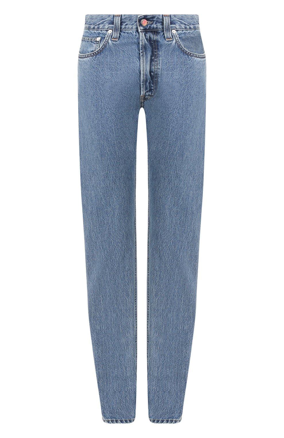 Женские джинсы HELMUT LANG синего цвета, арт. I09DW210 | Фото 1