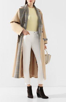 Женские джинсы AGOLDE белого цвета, арт. A133-1085 | Фото 2