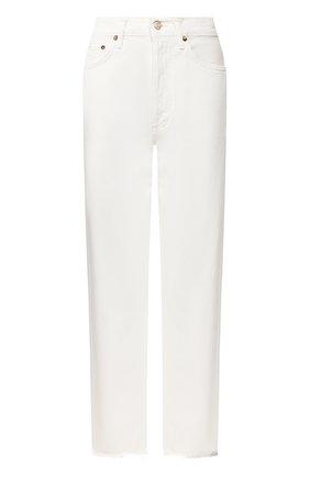 Женские джинсы AGOLDE белого цвета, арт. A069C-1183 | Фото 1