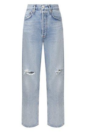 Женские джинсы AGOLDE голубого цвета, арт. A069C-1141   Фото 1